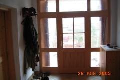 Hausflur ( Blick auf die Haustüre )